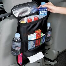1pc Car Accessories Auto Seat Back Multi-Pocket Insulation Storage Bag Organizer