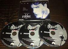 LA FIRME TRES RARE FILM EN COFFRET TRIPLE CDI INTERACTIF VIDEO CD