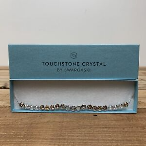"💎Touchstone Crystal By Swarovski Glimmer Necklace 16"" BNIB💎"