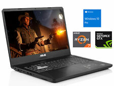 "ASUS FX 17"" FHD IPS PC, Ryzen 7 3750H, 8GB RAM, 128GB SSD, Win 10 Pro"