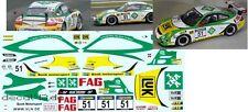 """1/43 Decal Porsche 911 GT3 Cup """"Schaeffler"""" Bonk Motorsport VLN 2011"""