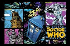 Doctor Who - Brand New Licensed Comic Layout Maxi Poster 91.5cm x 61cm