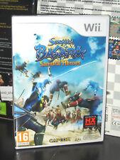 SENGOKU BASARA SAMURAI HEROES Wii GIOCO NUOVO NINTENDO