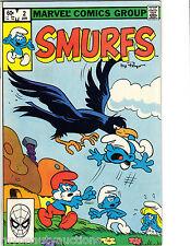 Marvel Comics Smurfs Volume 1 # 2 January 1982. Very Fine / Near Mint. FREE SHIP