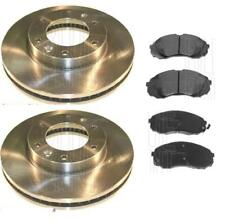 FOR KIA SEDONA 2.2CRDI 2009> ON FRONT BRAKE DISCS PADS