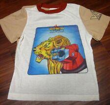 Voltron pajama shirt 1984 vtg cartoon size 12 youth lrg Defender of Universe Tv
