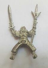 Warhammer edad de Sigmar Alto Elfo Mago en pose de metal sin pintar montado fuera de imprenta