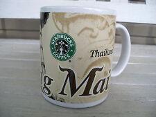 Starbucks Coffee Mug Chiang Mai Thailand 2001