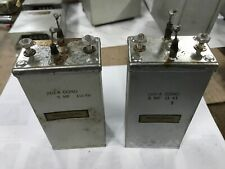 Western Electric | 269-A Pair of Oil Capacitors