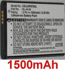 Batterie 1500mAh type 1ICP5/44/65 BL-44JN Pour LG NTLGL15G3P4