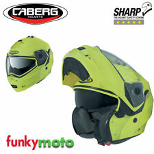 Casques jaunes Caberg moto pour véhicule