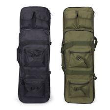 "39"" Tactical Padded Fishing Rod Shoulder Gun Carbine Rifle Weapons Case Bag"
