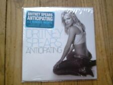 Britney Spears rare Anticipating and 19 cardsleeve singles (NM)