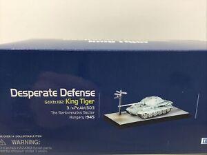 Dragon Cyber Hobby 60253 Desperate Defense King Tiger Tank Diorama 1/72 New