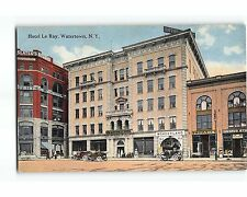 ST721: WONDERLAND NICKELODEON IN HOTEL LE RAY WATERTOWN NY  Circa 1910 Postcard