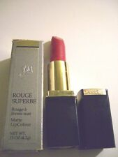 Lancome Rouge Superbe Lipstick MATTE ROUGE SUBTIL  New Boxed Full Size