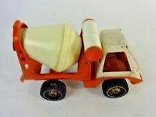 Vintage - Gabriel toys 1975 Orange cement Concrete mixer Truck - Clean!