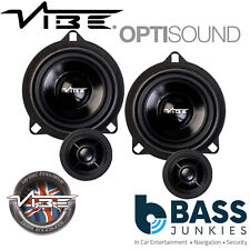 Vibe BMW 5 Series F10/F11 345 Watts Front Door Car Component Speaker Upgrade Kit