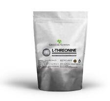 L-THREONINE Pure Powder PHARMACEUTICAL GRADE  Amino Acids