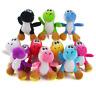"10pcs Super Mario Bros Yoshi Plush Stuffed Doll Toy Gift 5"" Xmas 10 Colors"