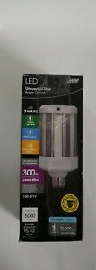 Feit Electric 300W Equivalent LED Bulb Dusk to Dawn With Motion Sensor, 5000 Lum