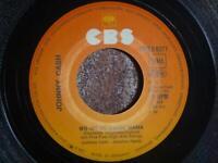 """JOHNNY CASH Wo ist zu Hause Mama / Viel zu spät - 7"""" SINGLE Vinyl VG+ CBS S 6271"""