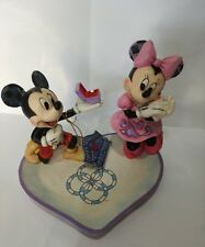 "ENESCO DISNEY Scultura ""Mickey & Minnie - A Magical Moment"" Jim Shore N° 4055436"