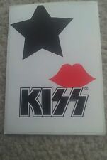 KISS PAUL STANLEY I LOVE KISS OFFICIAL USA STICKER 2006