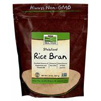 NOW Foods Rice Bran, 20 oz.
