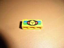 Lego Stein 1x3 bedruckt Paket 3622px8 gelb ebed328