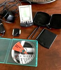 Palm Pilot Vx Handheld PDA  with Stylus, Case, Adapter, Software (Used), cords