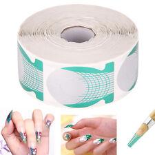 500pcs Nail Art Form Sticker Large Extension Guide DIY Acrylic Tips UV Gel