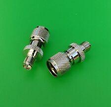 (2 PCS) SMA Female to Mini-UHF Male Connector - USA Seller