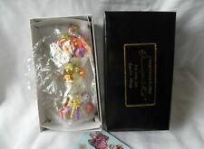 Christopher Radko EGGSTRA PLENTY EASTER BUNNY GLASS ORNAMENT April 2001