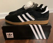 Adidas Busenitz Pro Skateboarding Black White Gold Size 12 Brand New