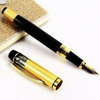 Luxury Vintage Classic HERO 901 Medium Nib Fountain Pen Stainless Calligraphy.