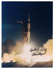 Alan Shepard Liftoff of Apollo 14  Signed Photo