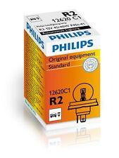 1 Lampada Lampadina Luce PHILIPS H4/H5 (P45t-41) R2 12V 45/40W RICAMBIO ALOGENA