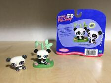 Littlest Pet Shop LPS #89 #90 Panda Pairs with Bamboo Tree complete with card