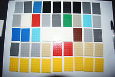 Lego 45 4 x 6 BROWN PLATES / Blocks # 3032 House / Castle / Plane (kz) GENUINE