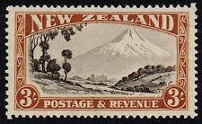 New Zealand 1936-42 3s. Mount Egmont, MH (SG#590)