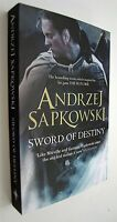 Sword of Destiny Andrzej Sapkowski Book The Witcher Series Science Fantasy New