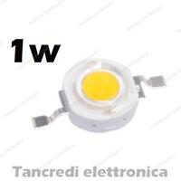 Chip led 1W bianco freddo 350mA 3V 3.6V alta luminosità lampadina lampada bulb