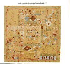 Brenda Ryan Thimblestitch  MATILDA'S WALTZ,  9 Block BOM QUILT with Embroidery