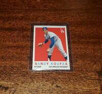 SANDY KOUFAX 2020 TOPPS THROWBACK THURSDAY #TBT PRINT RUN ONLY #/657 #115 #HOF
