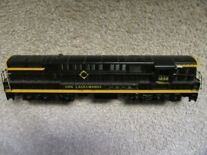 WILLIAMS O SCALE custom Painted Erie Lackawanna  FM TRAINMASTER -2