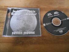 CD Rock Jack Bruce / Robin Trower - Seven Moons (11 Song) FLOATING WORLD jc
