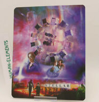 INTERSTELLAR - Lenticular 3D Flip Magnet Cover FOR bluray steelbook
