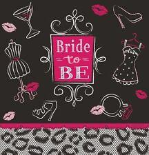 Bridal Bash Tablecover 54 x 102 Bachelorette Lingerie Shower Border Print