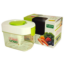 1.6 Liter Japanese Plastic Pickle Maker Press Tsukemono Container/ Made in Japan